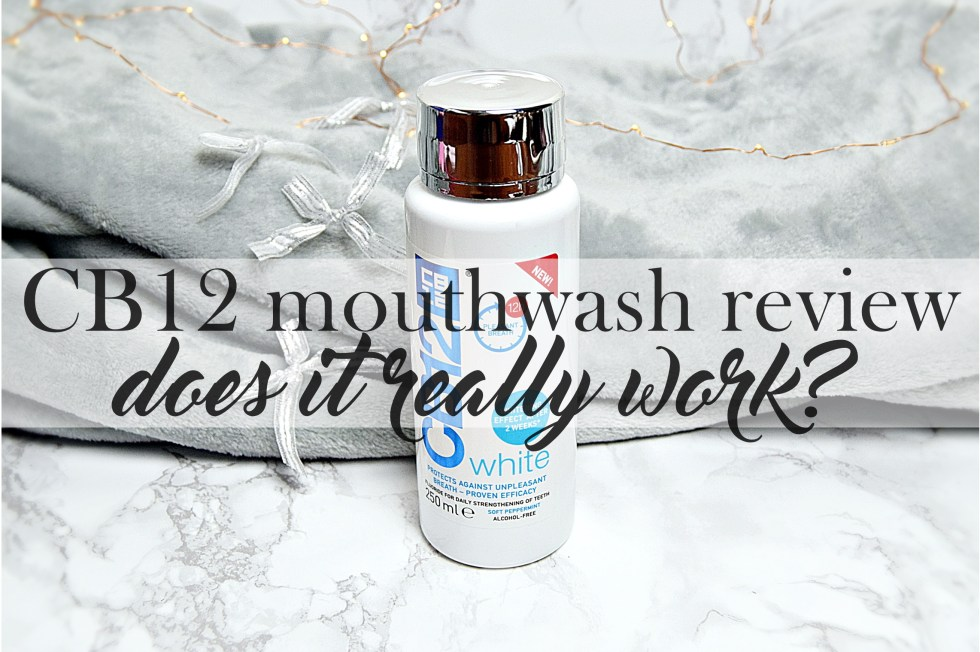 CB12 mouthwash review cover image - Round-Up Post www.wingitwithjade.com