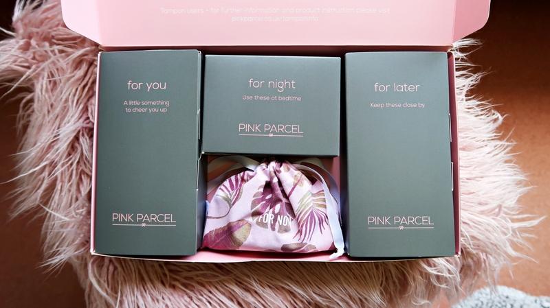 Pink Parcel unboxed