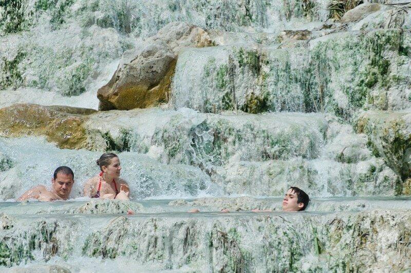 Cascate del Mulino Terme Saturnia