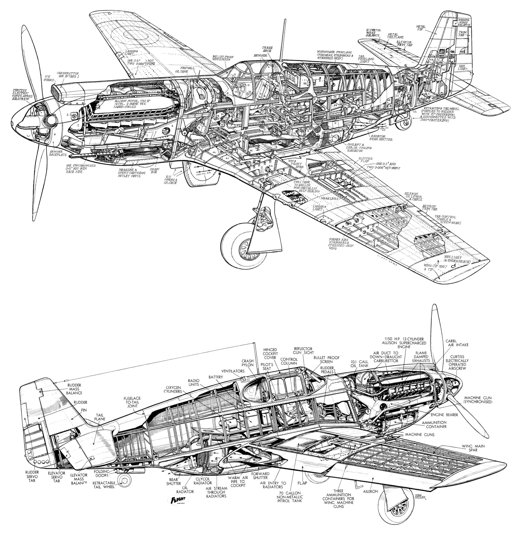 North American P 51 Mustang Ebook Amp Aircraft Flight