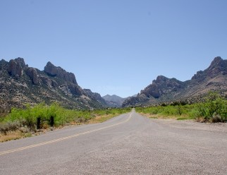 Cave Creek Canyon Scenic View2