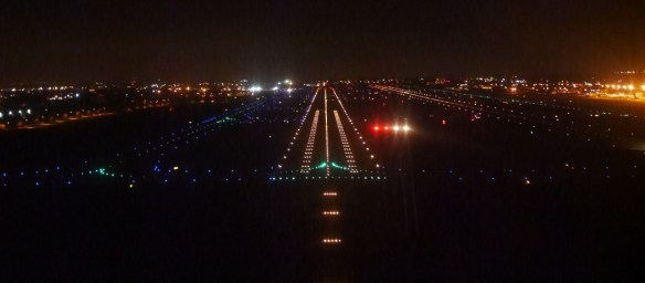 Night approach to ONT