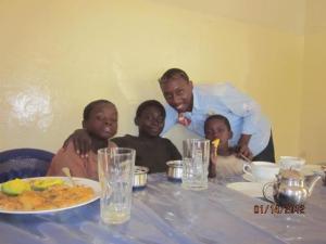 Children sitting around a table