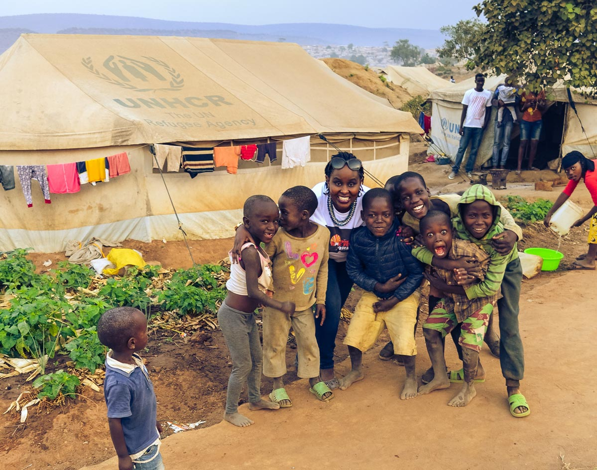 Wings of Hope for Africa - Mahama Camp Donation to the Burundian Refugees