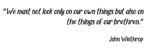Winthrop Quote