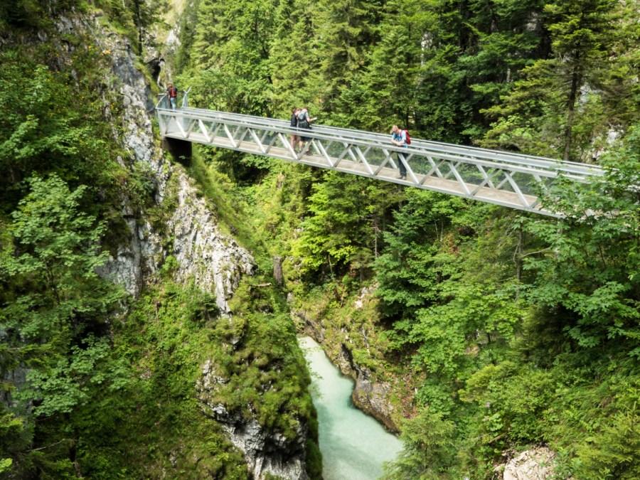 Leutaschklamm - bridge - brücke