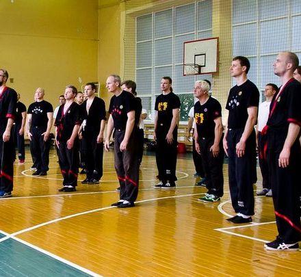 Wing Tsun Ukraine участники летнего лагеря в Каунасе (Литва) 1