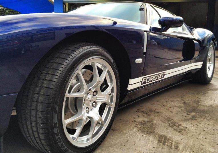 ford, gt40, gt, stone chip film, paint protection film, winguard, adelaide, matte paint, matt paint, car bra