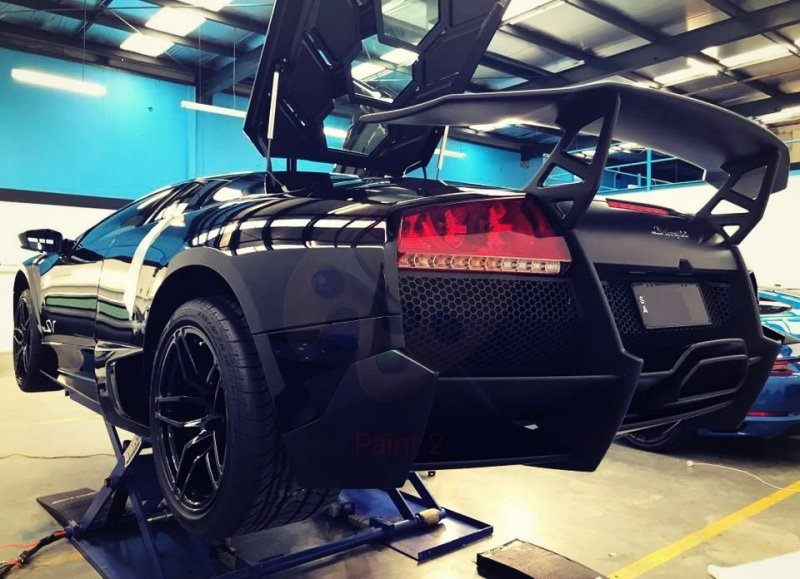 lamborghini, sv, hurricane, murcielago,  750lp, aventador, car bra, stone chip film, paint protection film, winguard, adelaide, matte paint, car wrap, matt paint, XPEL, Ultimate, Stealth