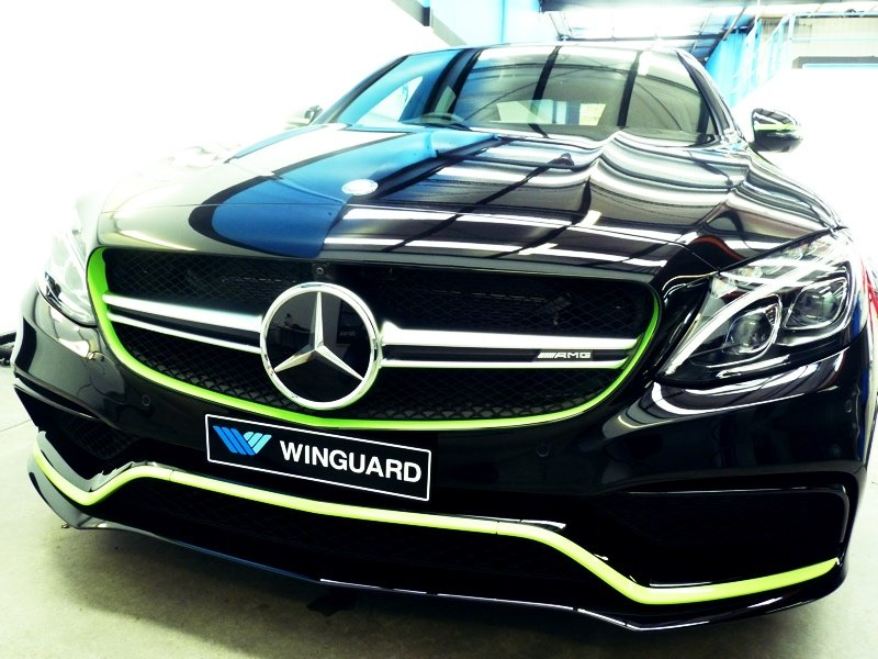 mercedes, night edition, night ed, c63, c63s, customised, car bra, stone chip film, paint protection film, winguard, adelaide, matte paint, adelaide, matt paint, decal, tint, XPEL, Ultimate, Stealth