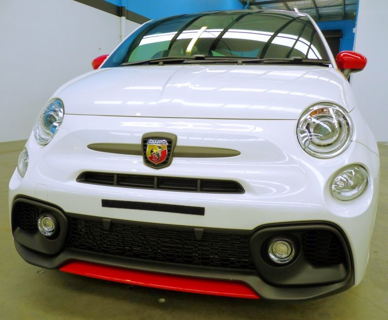 FIAT 500, FIAT 595, Fiat paint protection, XPEL, Winguard, Adelaide
