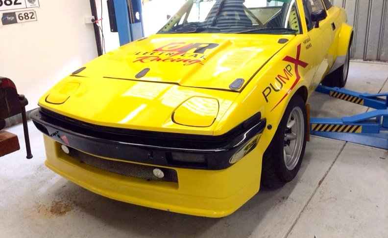 TARGA, racing, winner, customised, car bra, stone chip film, paint protection film, winguard, adelaide, matte paint, adelaide, matt paint, decal, tint, XPEL, Ultimate, Stealth
