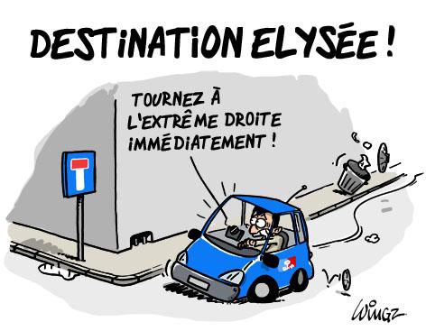 en route vers l'Elysée