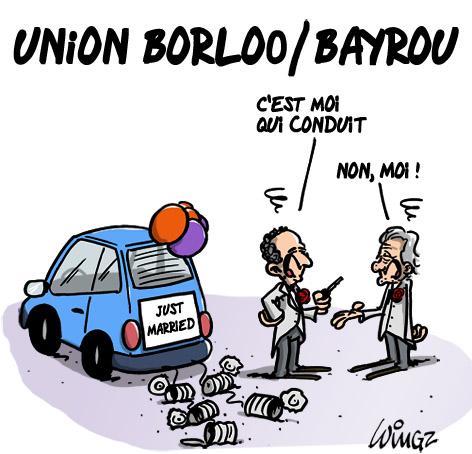 union au centre entre l'UDI de Borloo et le Modem de Bayrou