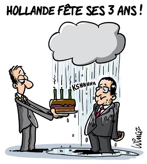 hollande 3 ans