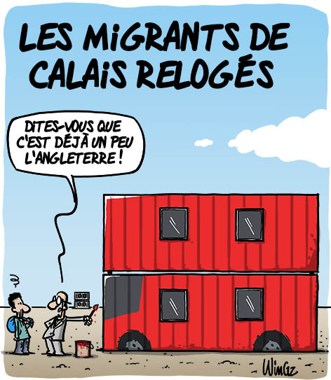 jungle calais démantèlement