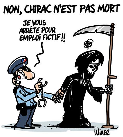 chirac emploi fictif