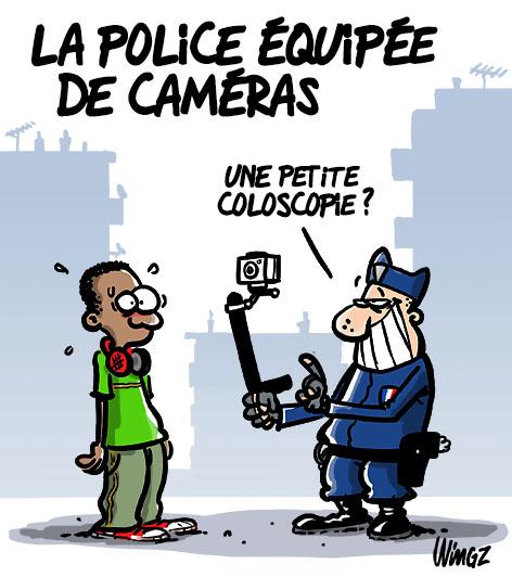 police cameras piéton