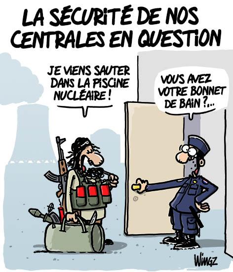 centrale nucléaire attaque terroriste