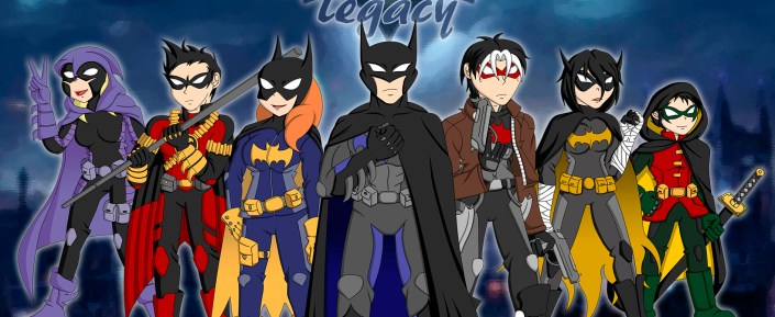 "Batifamilia de ""Batman Family: Legacy"""