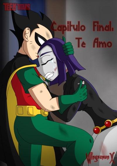 """Teen Titans: The Sinners - Portada de """"Te Amo"""""""