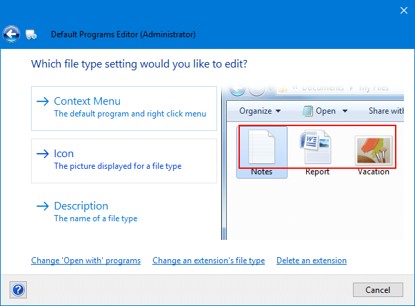 How to Change the Icon for a File Type in Windows