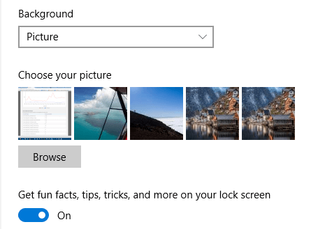 How to Remove Old Lock Screen Images From Settings Page in
