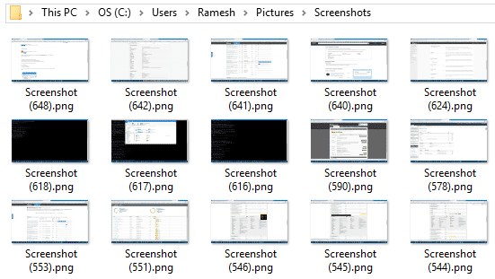how to take screenshot