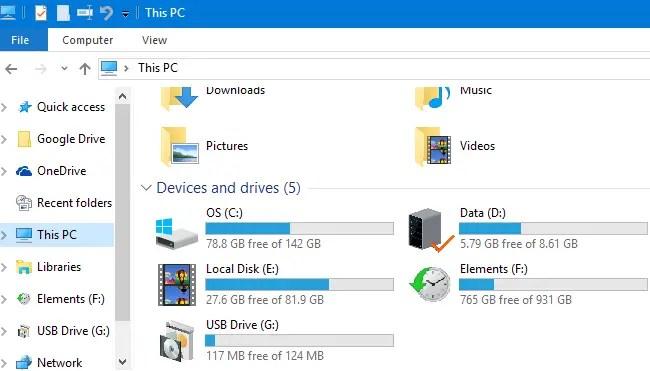 change drive icons custom ico file
