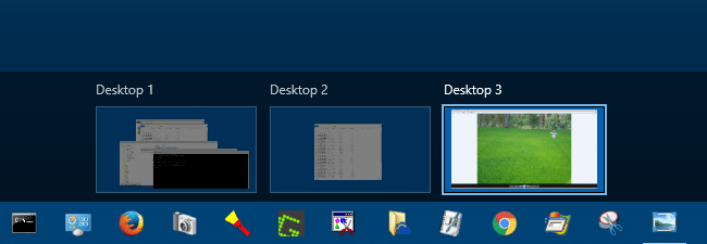 Launch Programs in a Specific or New Virtual Desktop in