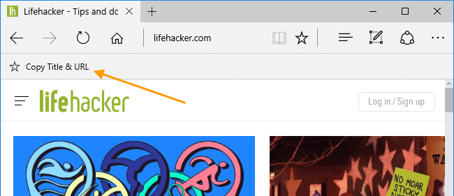 edge copy title and url bookmarklet