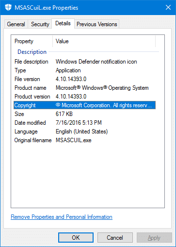 How to Remove Windows Defender Icon from Notification area in