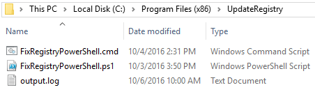 kb3194496 script msi fix microsoft