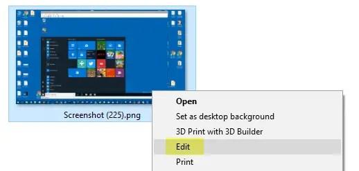change the default image editor