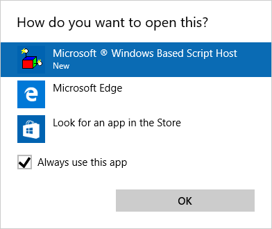 open cortana web search in default browser