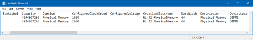 determine memory module type