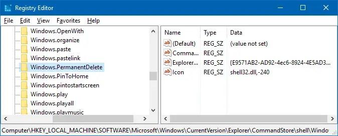 ribbon command in right-click menu