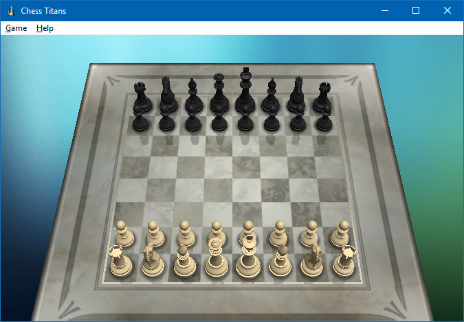 play chess titans in windows 10