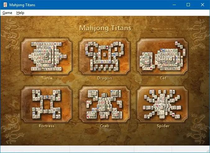 Mahjong games gratis download