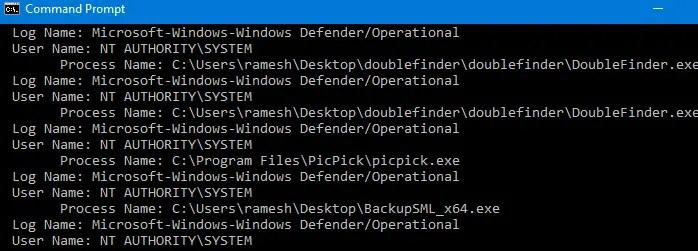 defender controlled folder access - blocked apps list