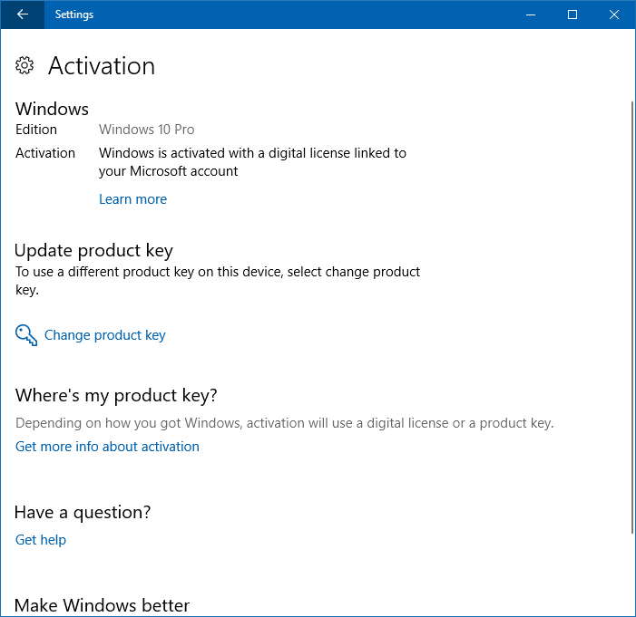 windows 10 pro generic key