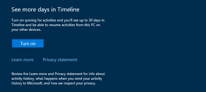 windows 10 timeline feature taskview
