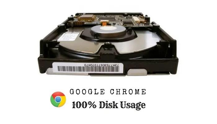 chrome high disk usage