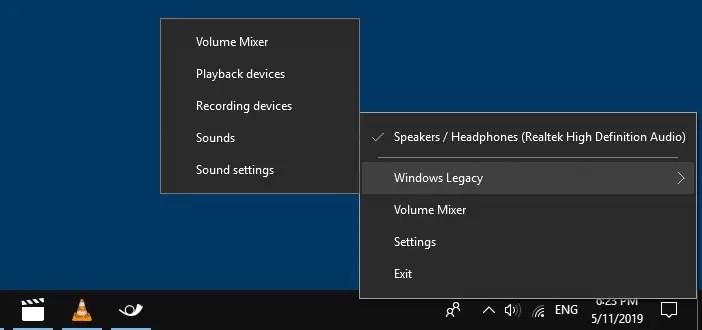 Windows 10 Taskbar Volume Control Icon does not Work