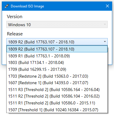 download windows 10 iso using rufus