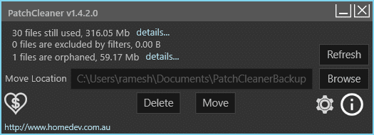 patchcleaner to clean up windows installer folder