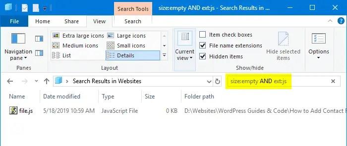 How to Delete Empty files (0 byte) in Windows? » Winhelponline