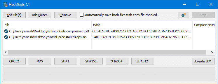 How to Get File Hash Checksum (MD5, SHA-1, SHA-256) via