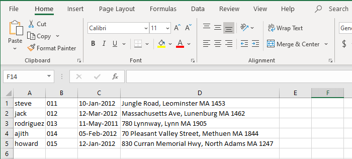 Stop Excel from Converting Text to Number or Date format