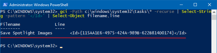 ask scheduler service is not available. Task scheduler will try to reconnect to it - powershell